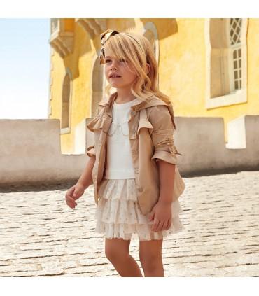Mayoral tüdrukute tüllsatsiga kleit 3939