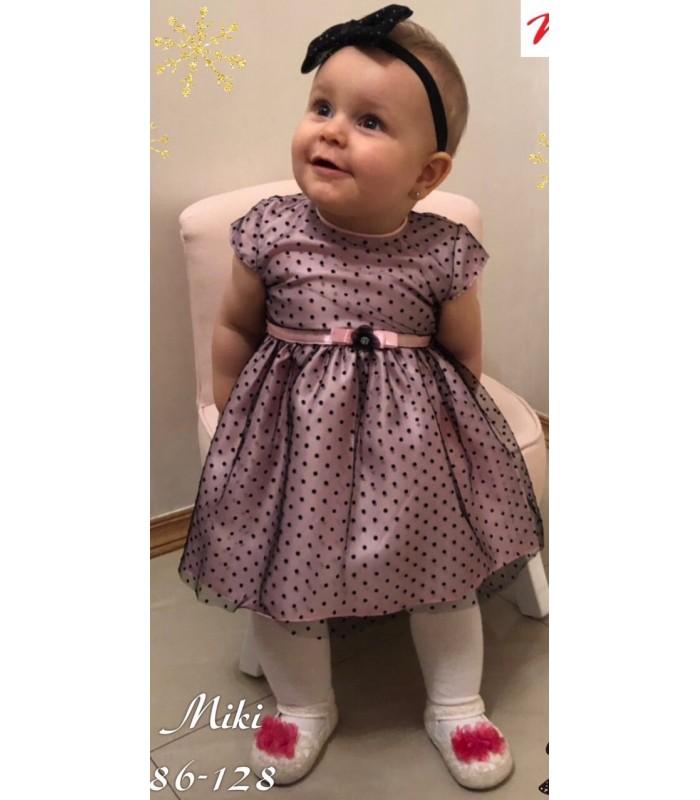 Madzi tüdrukute pidulik kleit väikesele tüdrukule Miki 274211 01