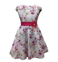 Tüdrukute lilleline kleit v.t