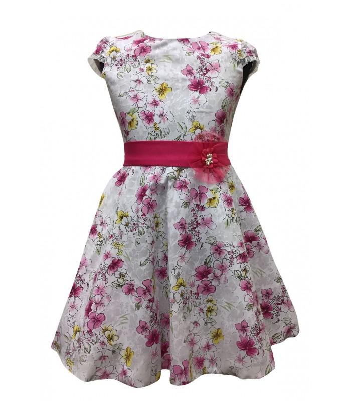 Tüdrukute lilleline kleit v.t 270241 01 (1)