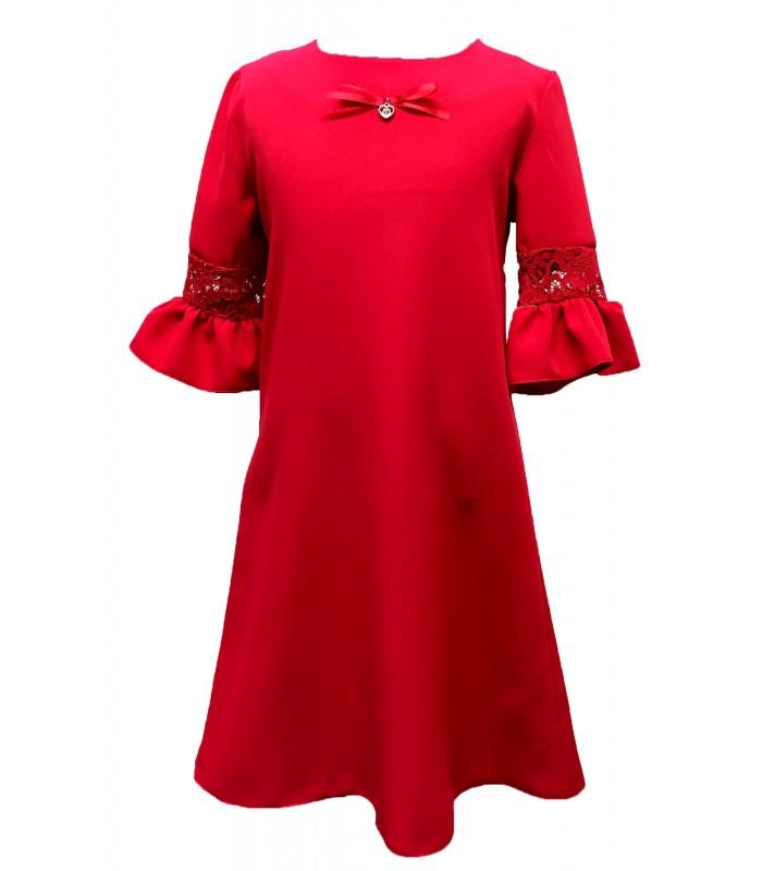 Tüdrukute pidulik kleit ühev