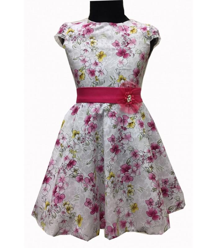 Tüdrukute lilleline kleit v.t 270241 01 (2)