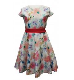Tüdrukute lilleline kleit 270234 01
