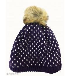Lenne tüdrukute kootud müts Mona 18391 A