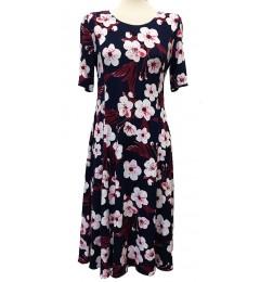 Цветочное платье для женщин Gode cott 28427 01