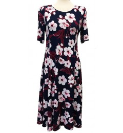 Naiste lilleline kleit Gode cott