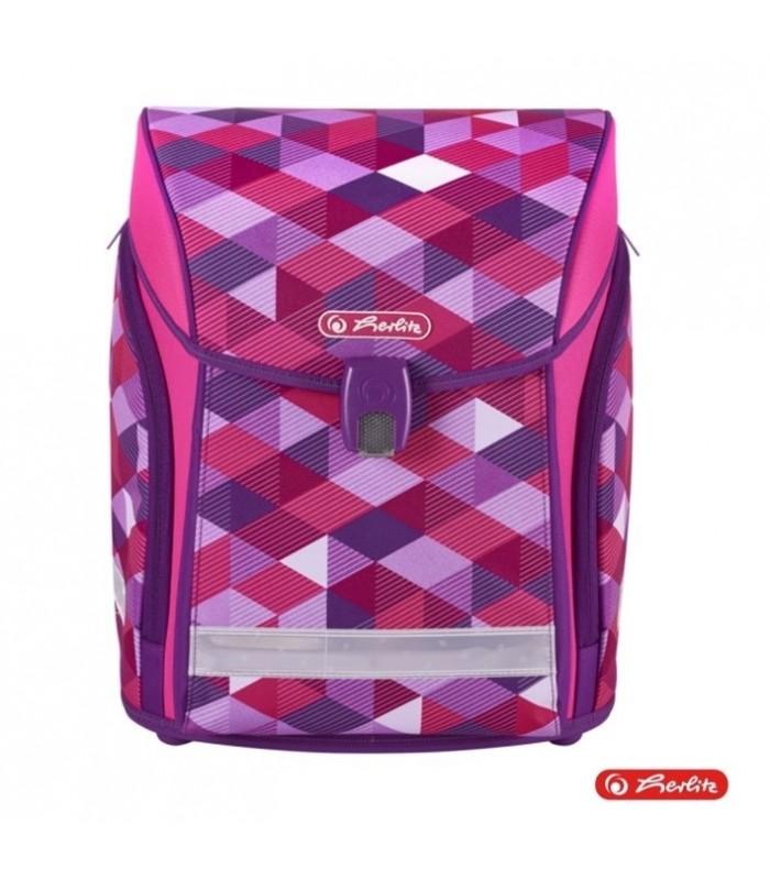 Herlitz ranits MIDI - Pink Cubes 128649