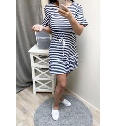 Женское полосатое платье 3630