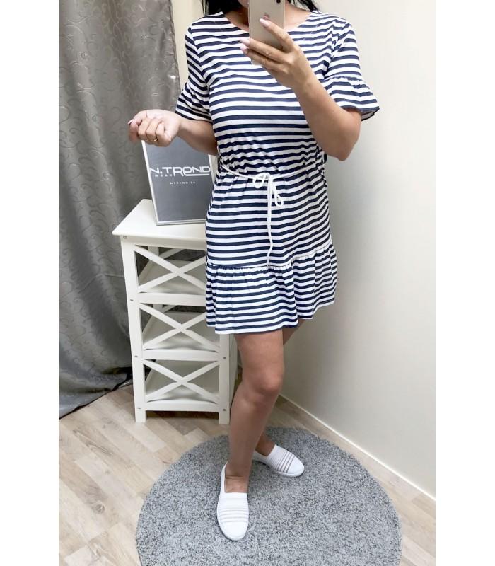 Naiste triibuline kleit 3630
