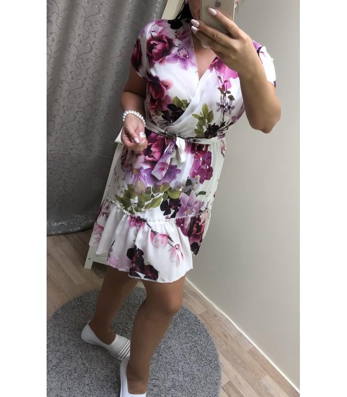 Naiste lilleline kleit 28713 01 (2)