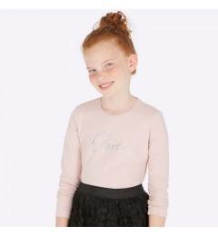 Mayoral футболка для девочек с длинным рукавом 830