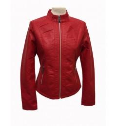 Женская куртка из искусственной кожи 7901-2GSP