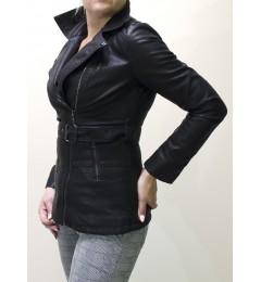 Женская кожаная  куртка 2017 922017 01