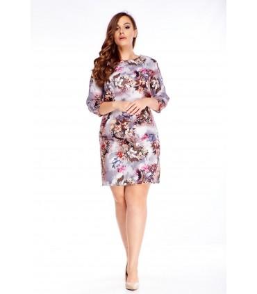 Naiste kleit 3/4 varrukatega M71310