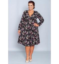 Женское цветочное платье 284515 01 (1)