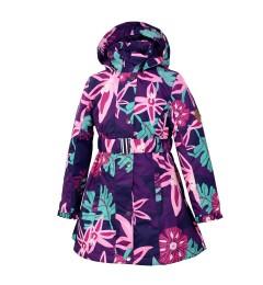 Huppa tüdrukute mantel 40g Leandra 18030004*01973 (2)
