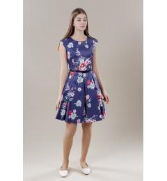 Two Blue naiste kleit satiin 232311 01