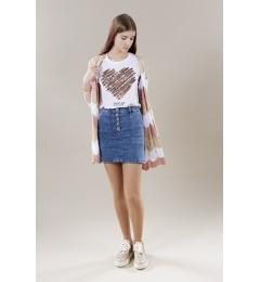 Женская джинсовая юбка Hailys Enya SL
