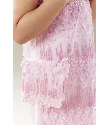 Tüdrukute pidulik kleit ja kott 4630