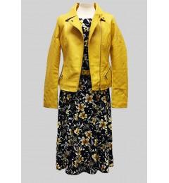 Женская куртка из искусственной кожи 63059-1 902059 02 (1)