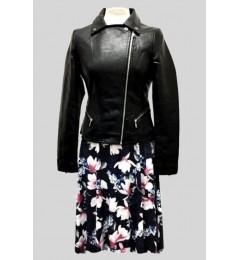 Женская куртка из искусственной кожи 63059-1