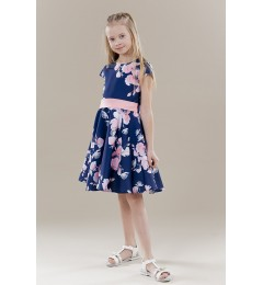 Tüdrukute lilleline kleit 270233 01