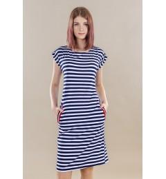 Женское платье в полоску 232420 01