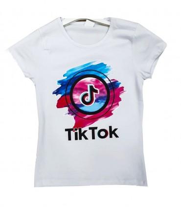 Футболка для девочки TikTok 201390 02