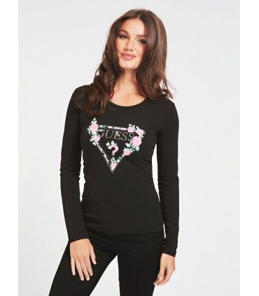 Guess женская футболка с длинными рукавами W0YI83*996 (3)