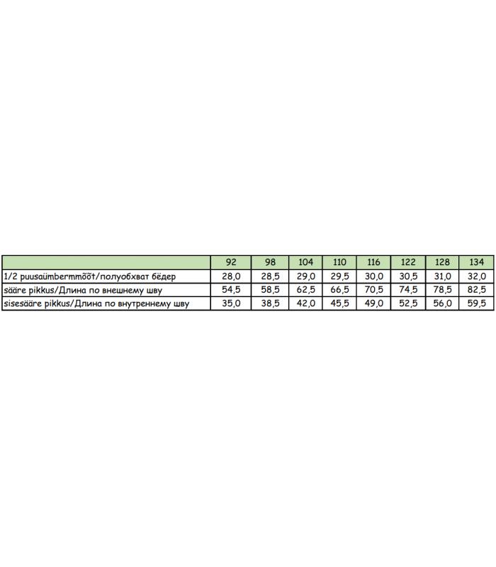 Huppa traksipüksid lastele 0g Jorma 26470000 26470000*00063 (3)