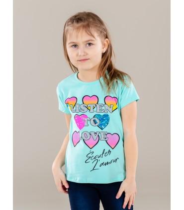 Tüdrukute T-särk 211010 02 (2)
