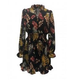 Naiste sügismustriline kleit Lola