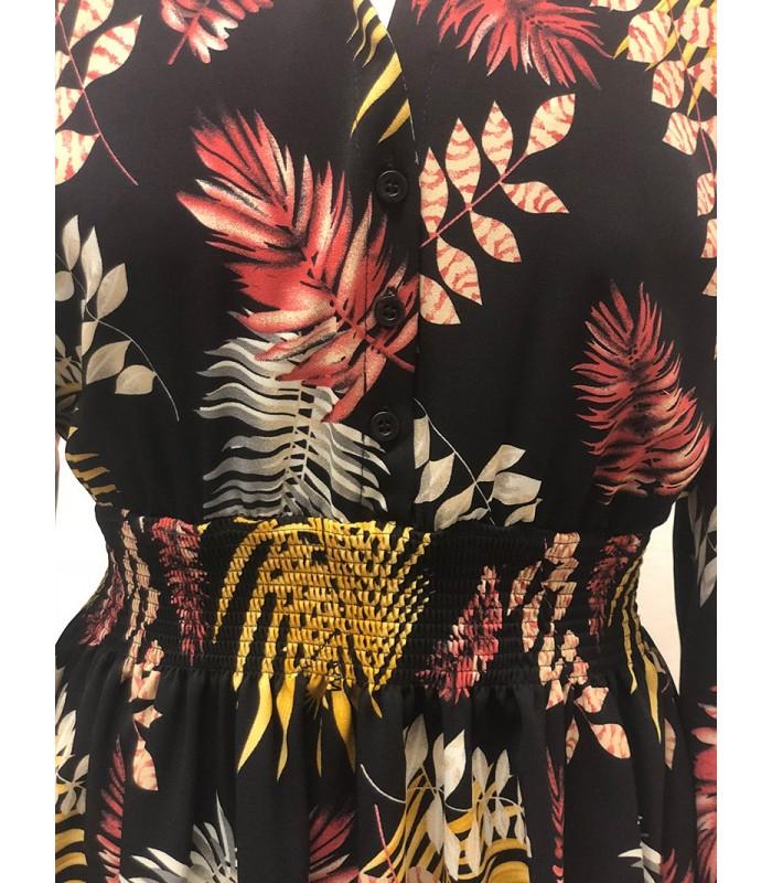 Naiste sügismustriline kleit Lola 28125 (2)