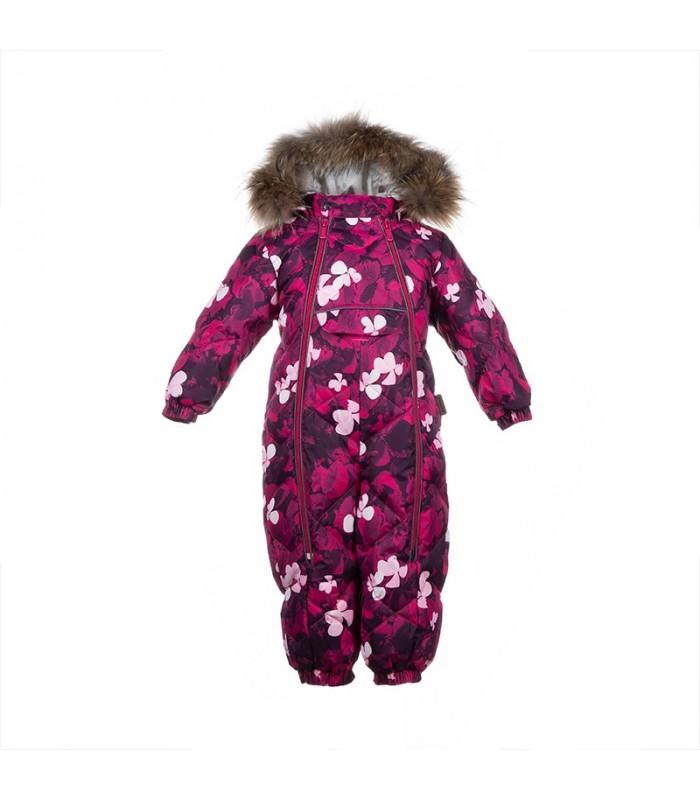 Huppa комбинезон с натуральным мехом для малышей Beata 1 31930155*8106 (2)