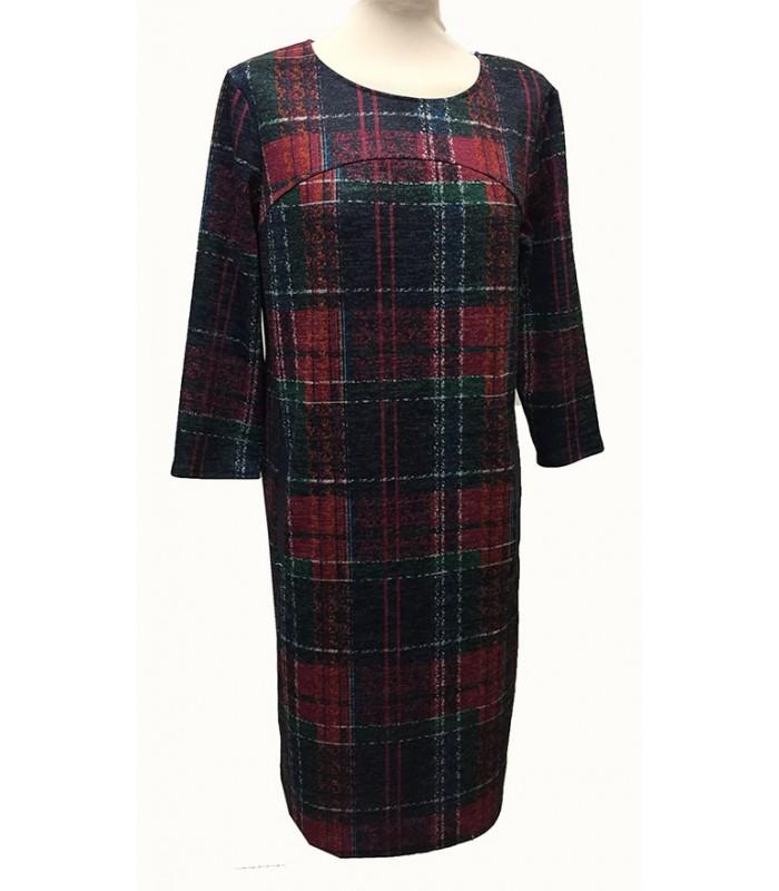 Naiste ruuduline kleit Nency 281075 01